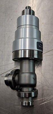 Vat Manual F28 Right Angle Vacuum Valve 1.33 Cff Conflat Flange Lesker Mks Hps