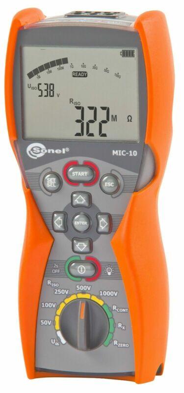 Sonel MIC-10 Insulation Resistance Tester Meter MegOhmMeter 1kV megger