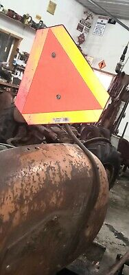 Allis Chalmers Wd Wd45 Tractor Fender Mounted Slow Moving Vehicle Sign