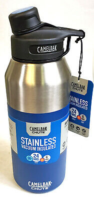NEW 40 ounce CamelBak Chute Vacuum Insulated Stainless Water Bottle 40 oz (Camelbak Chute 40oz Vacuum Insulated Stainless Water Bottle)