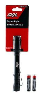SKIL WATERPROOF Stylus Pro LED Pen Light Flashlight Strong LED Flashlight AAA