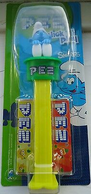 PEZ 'SMURF BOY ' CLICK 'N' PLAY DISPENSER.