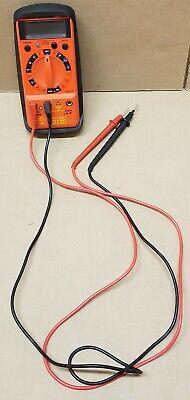 Wavetek Meterman 35xp Multimeter With Test Leads