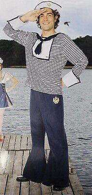 Matrose Kostüm Erwachsene Herren XL XL Marineblau Kostüm Yeoman Seemann - Marine Blau Seemann Kostüm