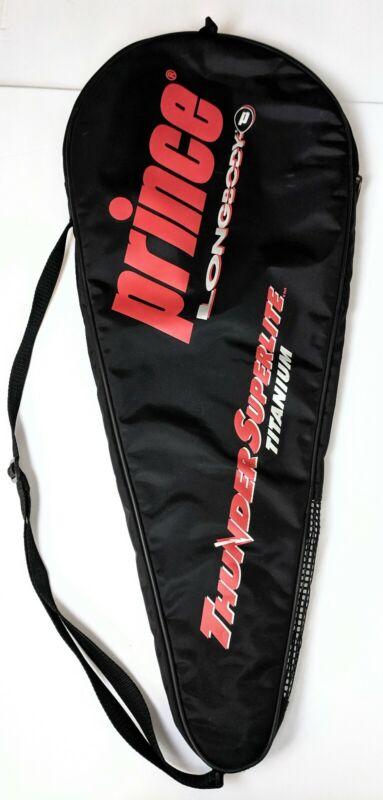 Prince Longbody Thunder Superlite Racquet Racket Tennis Cover Case Bag Black