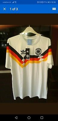Deutschland,West Germany 1990 italia 90 football shirt world cup size  XL
