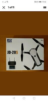JD20S Wifi FPV 0.3/5MP Camera With HD Wide Angle Camera Foldable Drone