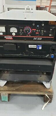 Industrial Lincoln Electric Dc-600 Welder - 10588