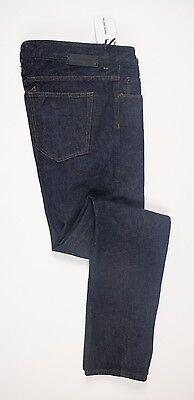 NWT Mauro Grifoni Men's Blue 100% Cotton Denim Jeans Pants Dark Wash Size 34