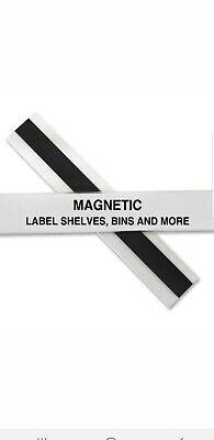C-line Magnetic Shelf/Bin Label holders.
