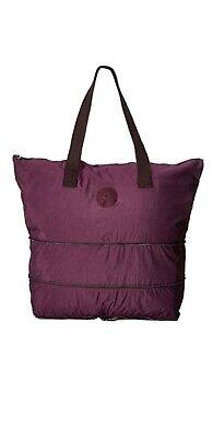 Kipling Imagine large foldable tote bag dark plum Rrp£84