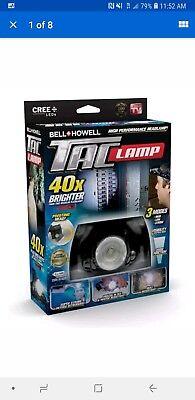 Taclight Headlamp, Hands-Free Flashlight As Seen On TV (40x Brighter) Sealed New
