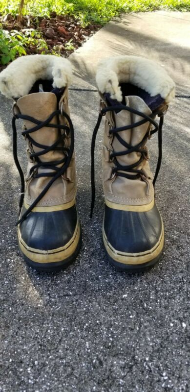 Vintage  KAUFMAN  SOREL   boots. Womens  Size  5.made in Canada.