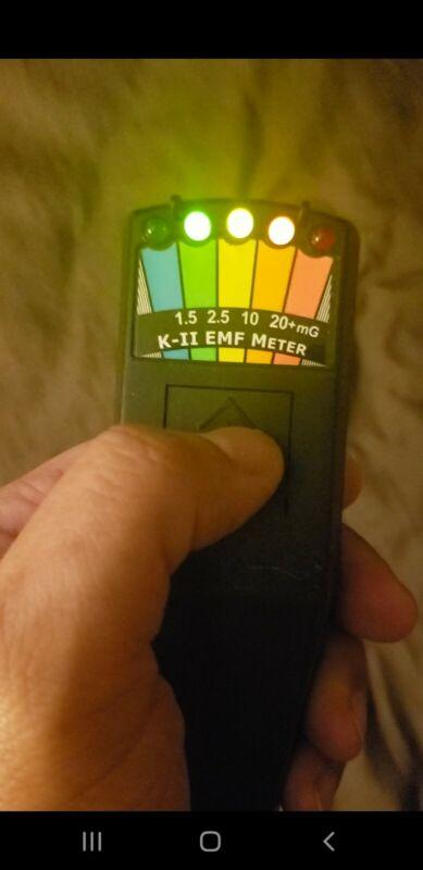 Screen Used Poltergeist Hero EMF Meter movie prop (working light function)
