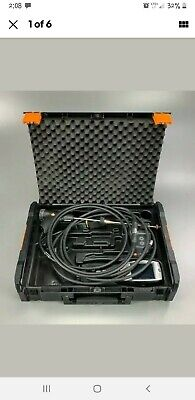 Testo 330-1 Ll Flue Gas Combustion Analyser Printer Probe Manualhard Case