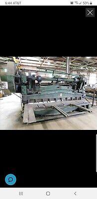 Bersch 38 X 10ft Mechanical Squaring Shear Sn 4991