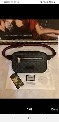 Gucci Supreme GG Mens Belt Adjustable Bum Bag Brand New With Tags