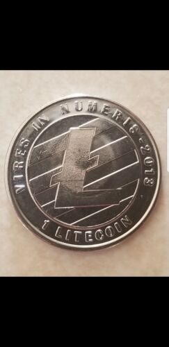 1 Physical LITECOIN - 2013 Lealana Cryptocurrency - FULLY FUNDED Verifiable - $220.00
