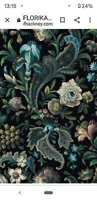 New House of Hackney Florika Onyx Wallpaper roll - £90 per roll