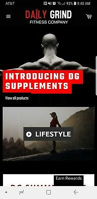 Must Sellmake Offer Daily Grind Fitness Company Website For Sale Established