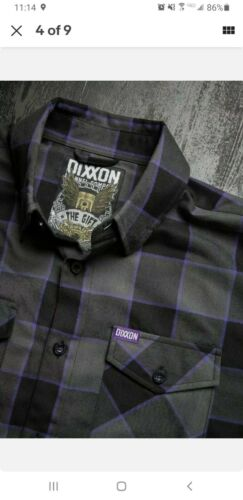 DIXXON Flannel THE GiFT Xl. Brand New. Unopened. Never Worn.