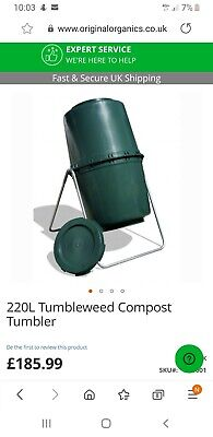 Tumbleweed Mulch Maker - Perfect Working Order RRP £185