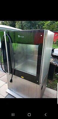 Fri-jado Tdr7-p 1 Phase Thru Electric Rotisserie Commercial Chicken Oven