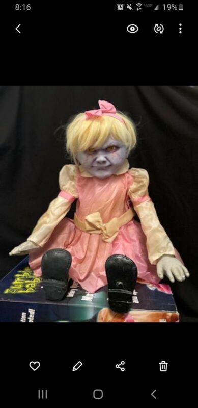 spirit halloween animatronics Angry Alice ZOMBIE BABIES