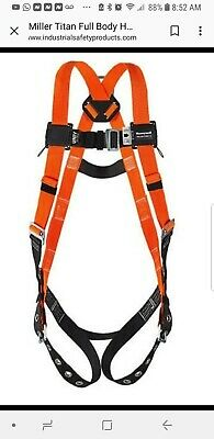 Miller By Honeywell Titan Non-stretch Full Body Harness T4500uak Sealed In Bag