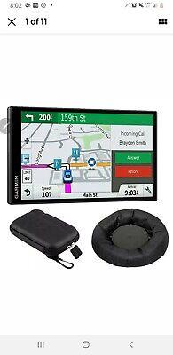Garmin DriveSmart 61 NA LMT-S GPS Nav Smart Features + Dash Mounting Bundle