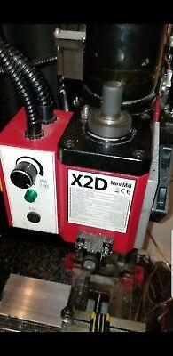 X2 X2d Grizzly Mini Mill Timing Belt Conversion 5100max Rpm