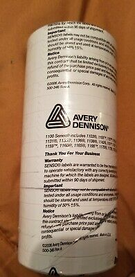 Avery Dennison 1100series 16 Roll Tube Pricing Labels For Monarch 1110