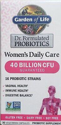 Garden of Life Women's Probiotics Daily Care  40 Billion CFU