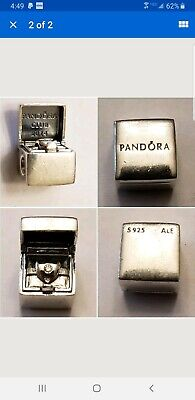 PANDORA ALE RETIRED EXCLUSIVE 2014 CLUB CHARM WITH DIAMOND STERLING. 925
