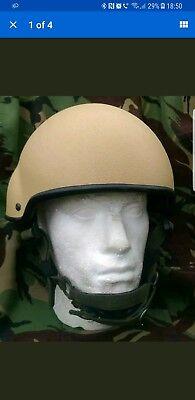 British Army Mk7 helmet medium.