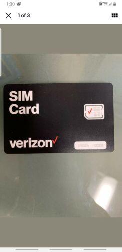 Verizon SIM card for iPhone 6/6+ 6s/6s+ 7/7+ 8/8+ SE X XR XS