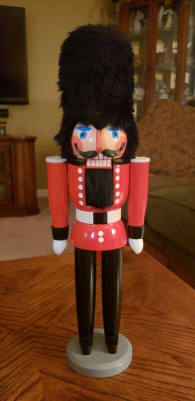 "17"" Erzgbirge Royal Guard Nutcracker Made In German Democratic Republic 》"