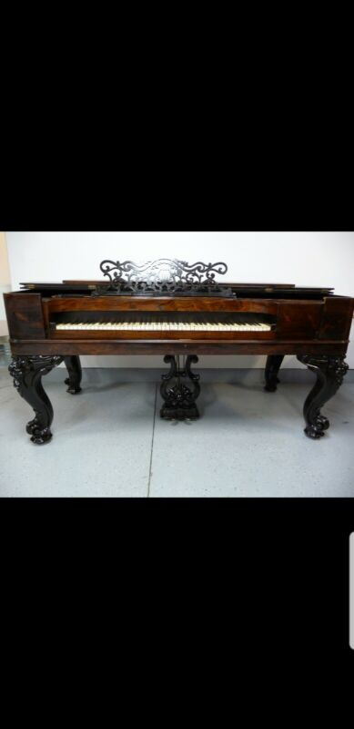 Antique Weber Grand Square Piano