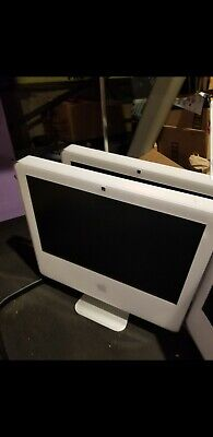 Lot of 2 Apple iMac 17-inch 1.83 and 2.0 GHz Intel Core 2 Duo