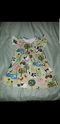 Girls Farm Barnyard country - Country Girl Dress