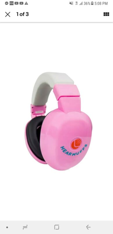 Lucid Audio Baby Hear Muffs pink Fits 0-4 Yr  NEW IN PACKAGE. A1- A22