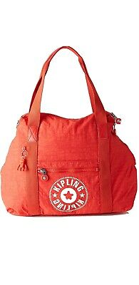 NEW Kipling ART M Active Red travel tote Gym bag 26L 58cm  Rrp£102