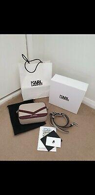 Karl Lagerfeld K/Mau Camera crossbody Bag