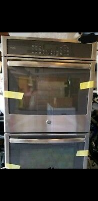"ge profile 27"" built in double wall oven"