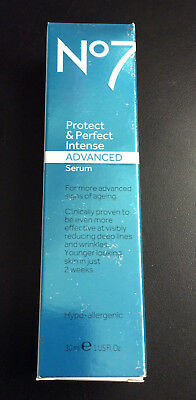Boots No7 Protect & Perfect Intense Advanced Anti Aging Serum Tube, 1 oz # 8914