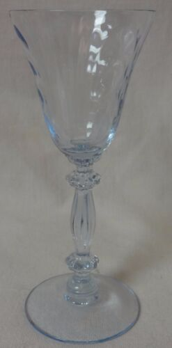 "Caprice Moonlight Blue Cordial 4.5"" 1 oz #300 Set of 2 Cambridge Glass Company"