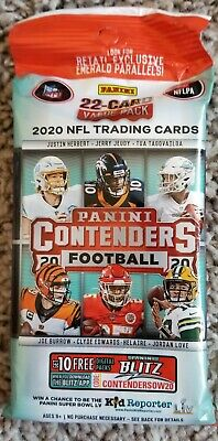 ✅2020 Panini Contenders Football Cello Pack