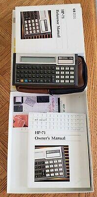 HEWLLET PACKARD HP-71B Computer Calculator | Orig. Box