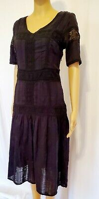 Intropia Black Dress Size M (EU 38)