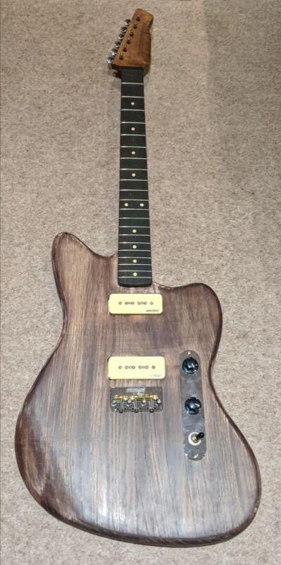 Custom Guitar Jazzmaster Body + Flame maple neck